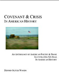Textbooks: Covenant & Crisis